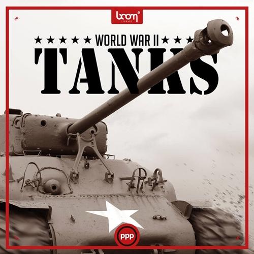 Boom Library - WW2 Tanks (WAV)