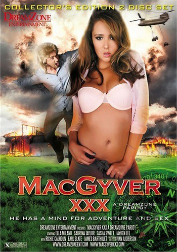 МакГайвер: Порно Пародия / MacGyver XXX: A Dreamzone Parody (2012) WEB-DL