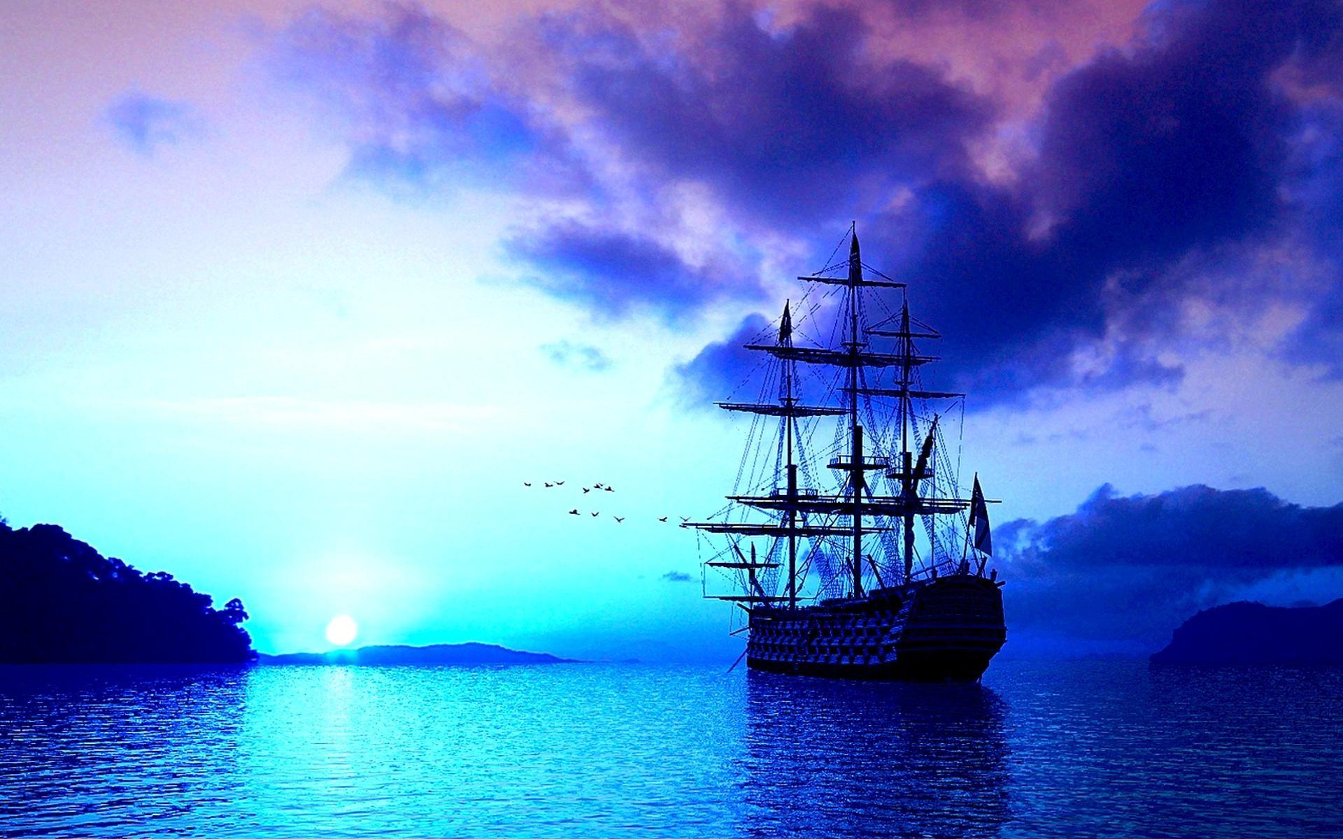картинка корабль на телефон обои лука ветвистого
