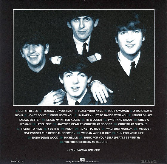 beatles, the artifacts - the definitive collection of beatles rarities : ticket to ride 1964-65, 1994 (japanese m