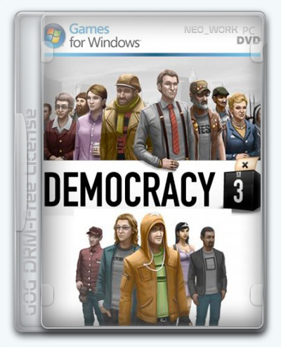 Democracy 3 (2013) [Ru/Multi] (1.31/dlc) License GOG [Complete Edition]