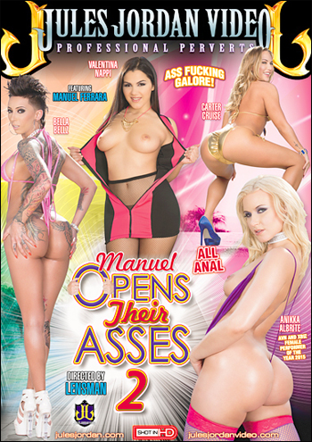 Мануэль вскрывает их задницы 2 / Manuel Opens Their Asses 2 (2015) WEBRip