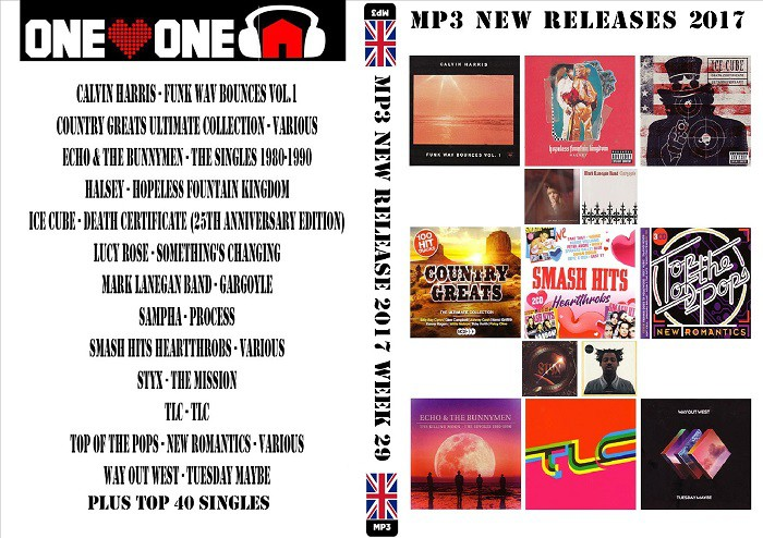 MP3 New Releases 2017 Week 29