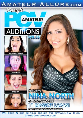 Пробы любителей от первого лица 25 / Amateur POV Auditions Vol.25 (2016) DVDRip