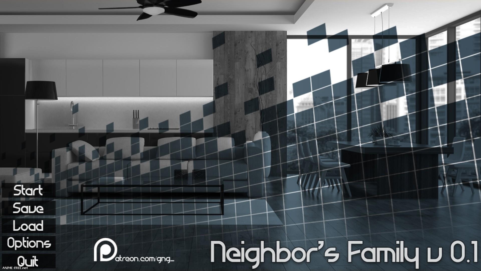 Neighbor's Family [2017] [Uncen] [RPG, 3DCG] [ENG] H-Game