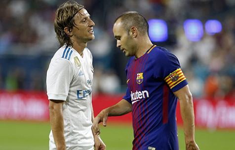 Модрич пропустит первый матч за Суперкубок Испании