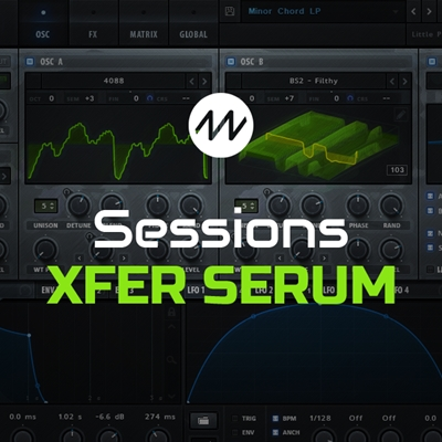 Dance Music Production - Sessions: Xfer Serum 2017 TUTORiAL | 1.48 GB