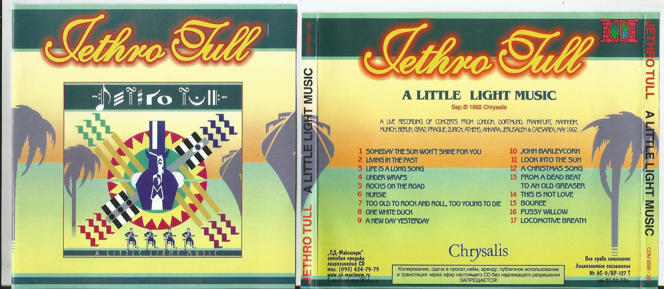 Jethro Tull Songs