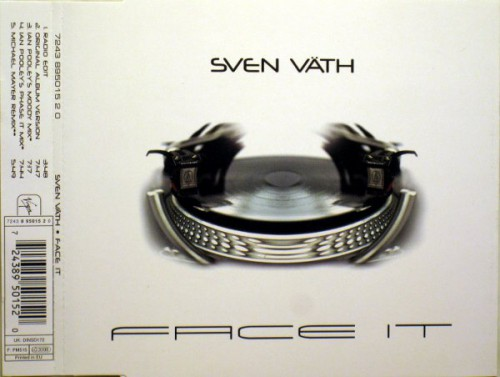 Sven Vath - Face It 1998 MP3 320kbps CBR and FLAC Lossless