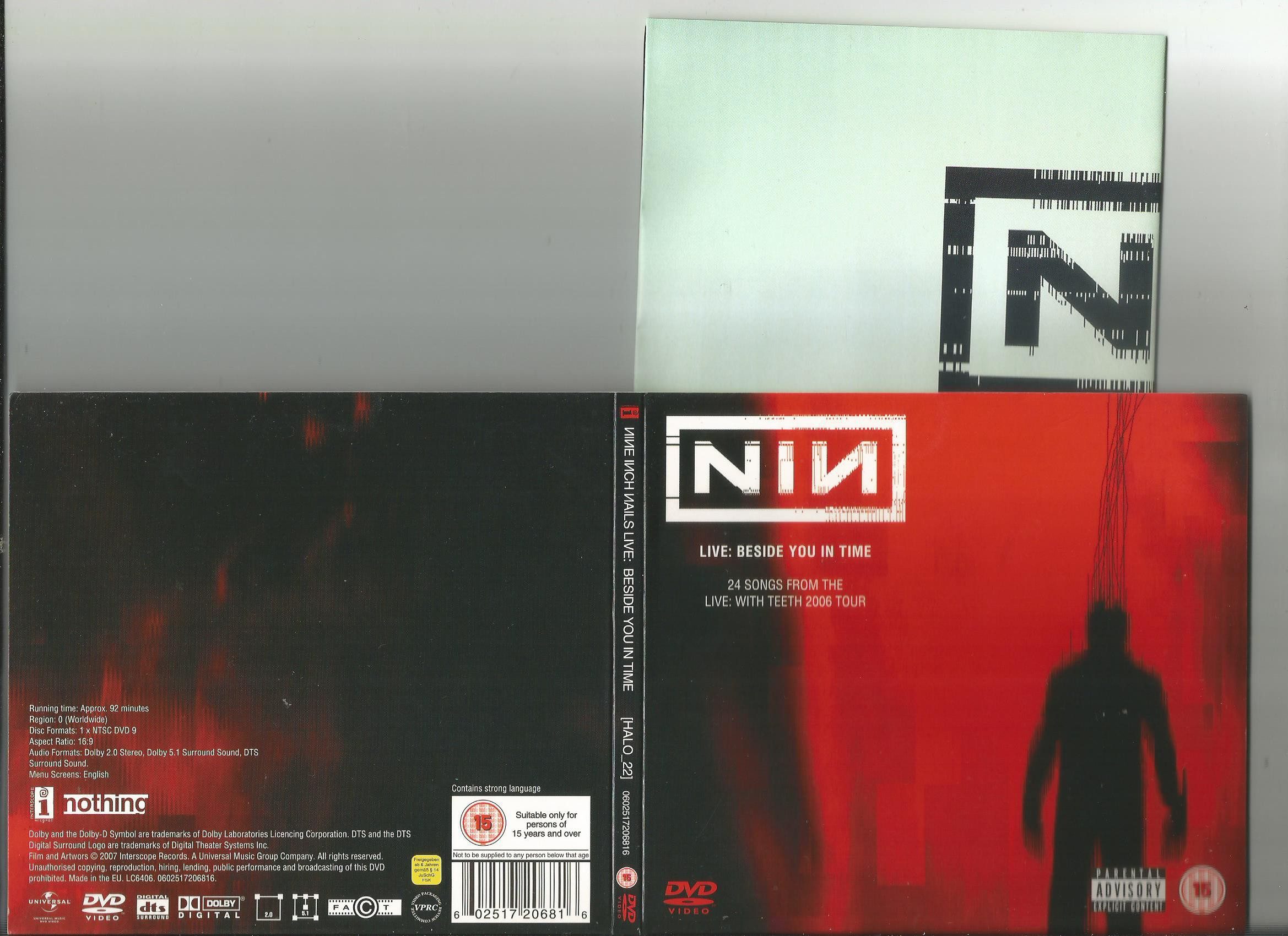 Nine Inch Nails Live: Beside You In Time Records, LPs, Vinyl and CDs ...