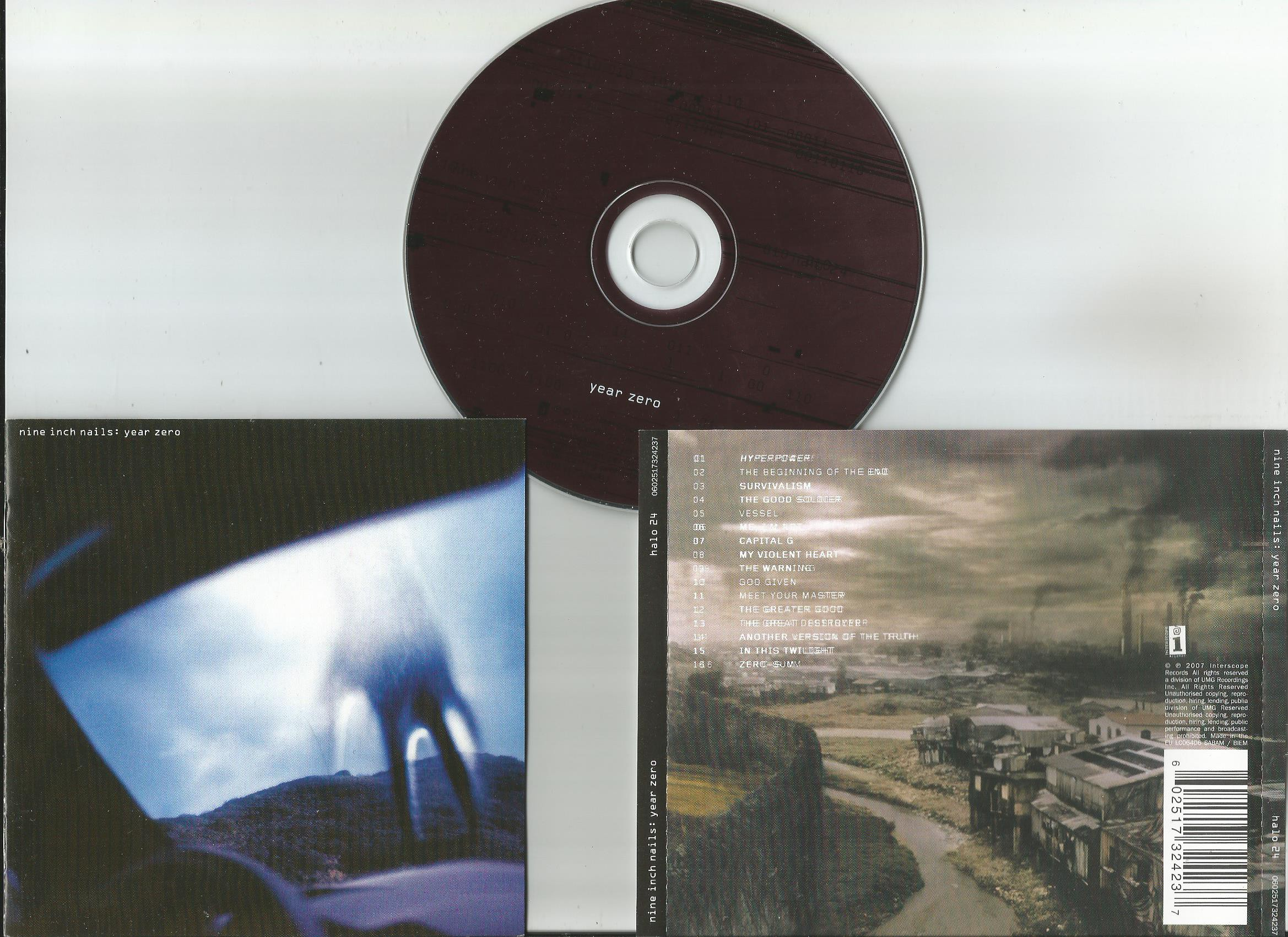 Nine Inch Nails Year Zero Records, LPs, Vinyl and CDs - MusicStack