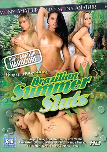Harmony - Бразильские летние шлюхи / Brazilian Summer Sluts (2015) DVDRip |