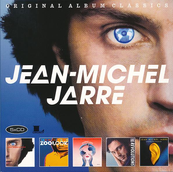 Jean-Michel Jarre - Original Album Classics [5CD Box Set] (2017) MP3