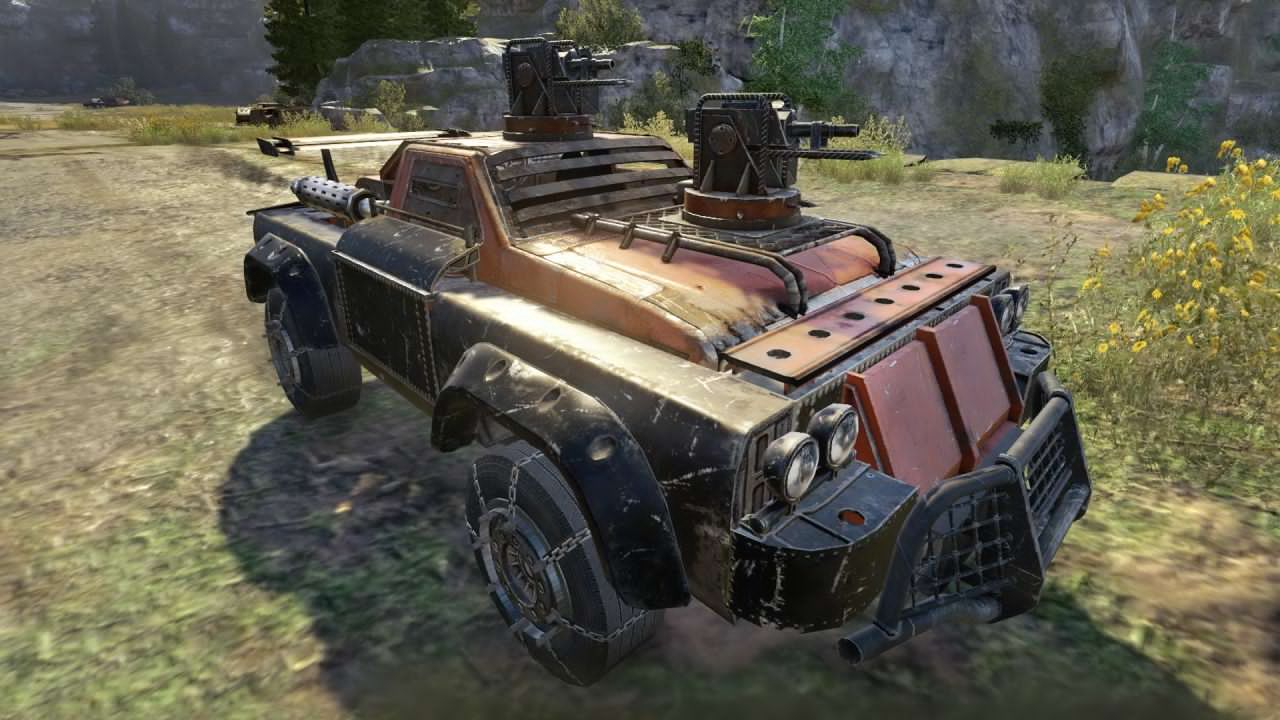 Crossout [0.8.5.59431] (2017) PC | Online-only