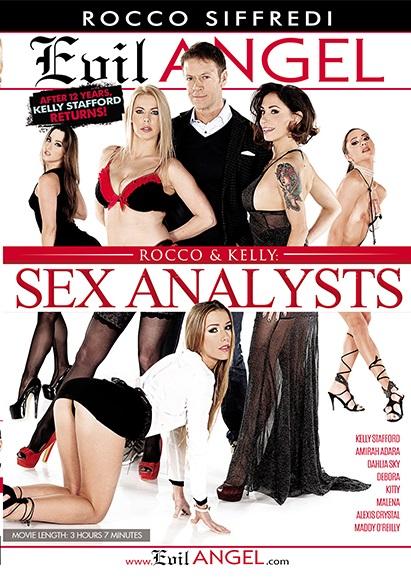 Rocco & Kelly: Sex Analysts (Rocco Siffredi, Evil Angel) [2017 г., Gonzo, Anal, DP, DAP, DVDRip]