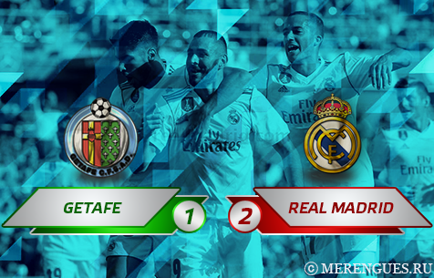 Getafe C.F. - Real Madrid C.F. 1:2