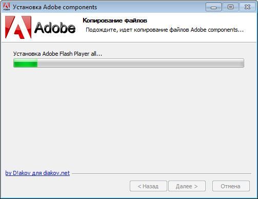 Adobe components: Flash Player / AIR / Shockwave Player (2017) PC | RePack by D!akov
