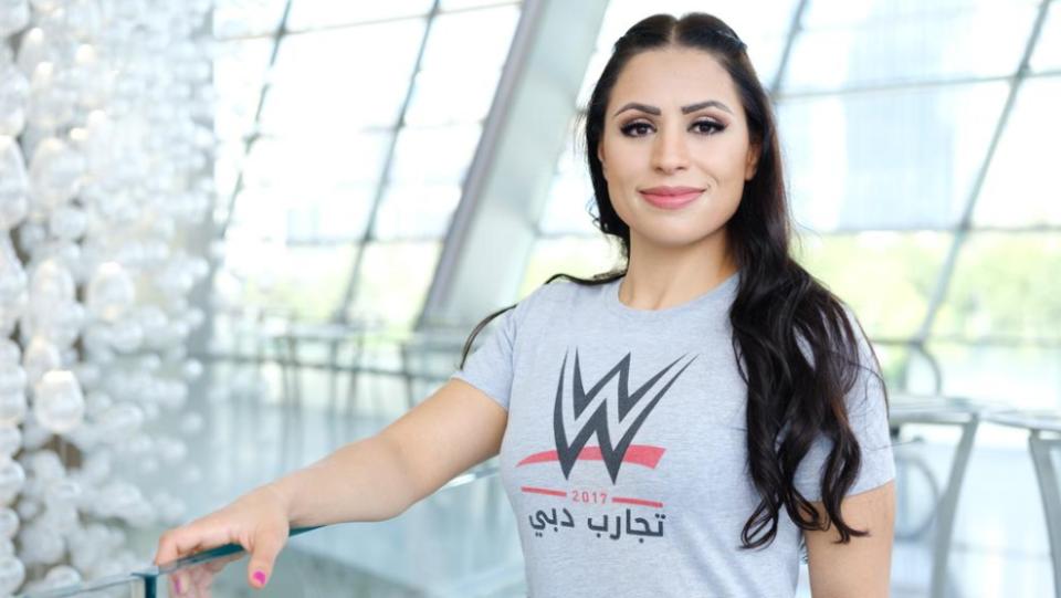 WWE подписали арабскую спортсменку
