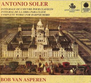 (Клавесин) Антонио Солер - Полное собрание клавирной музыки / Soler - Complete Harpsichord Works (Van Asperen, Gilbert, Pinnock) - 1992, APE (image+.cue), lossless