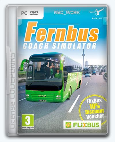 Fernbus Simulator (2016) [Ru/Multi] (1.0/dlc) License CODEPUNKS