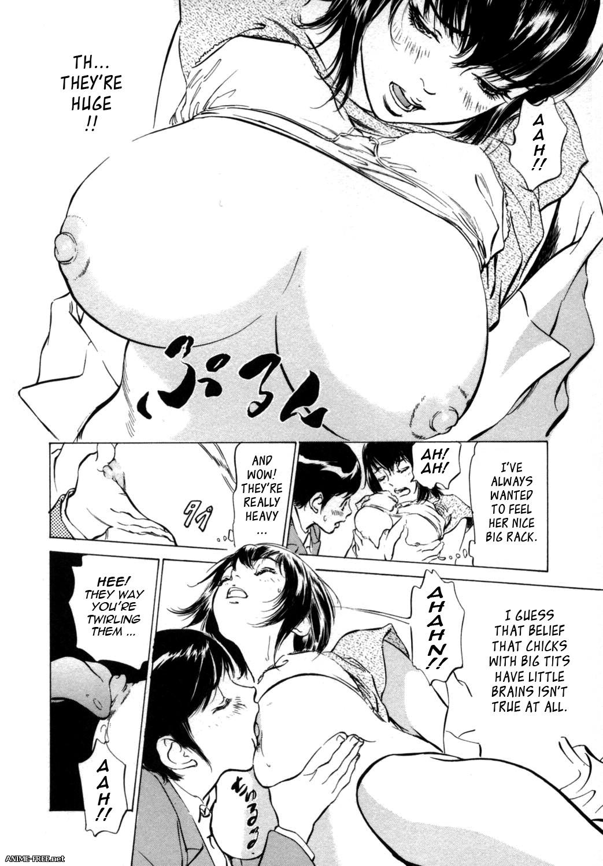 Hazuki Kaoru / Haduki Kaoru (STUDIO PAL) - Сборник хентай манги [Ptcen] [JAP,ENG,RUS] Manga Hentai