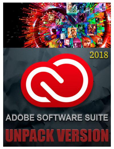 Adobe Software Suite 2018 [Unpack Version] Portable by Azbukasofta (x86-x64) (2017) [Multi/Rus]
