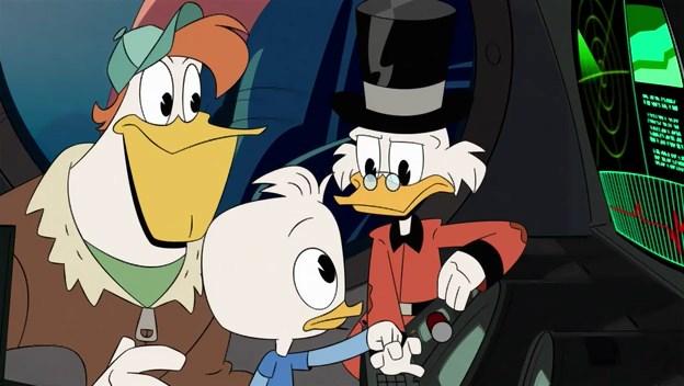 Утиные истории / DuckTales [01x01-02 из 23] (2017) WEB-DLRip | Невафильм