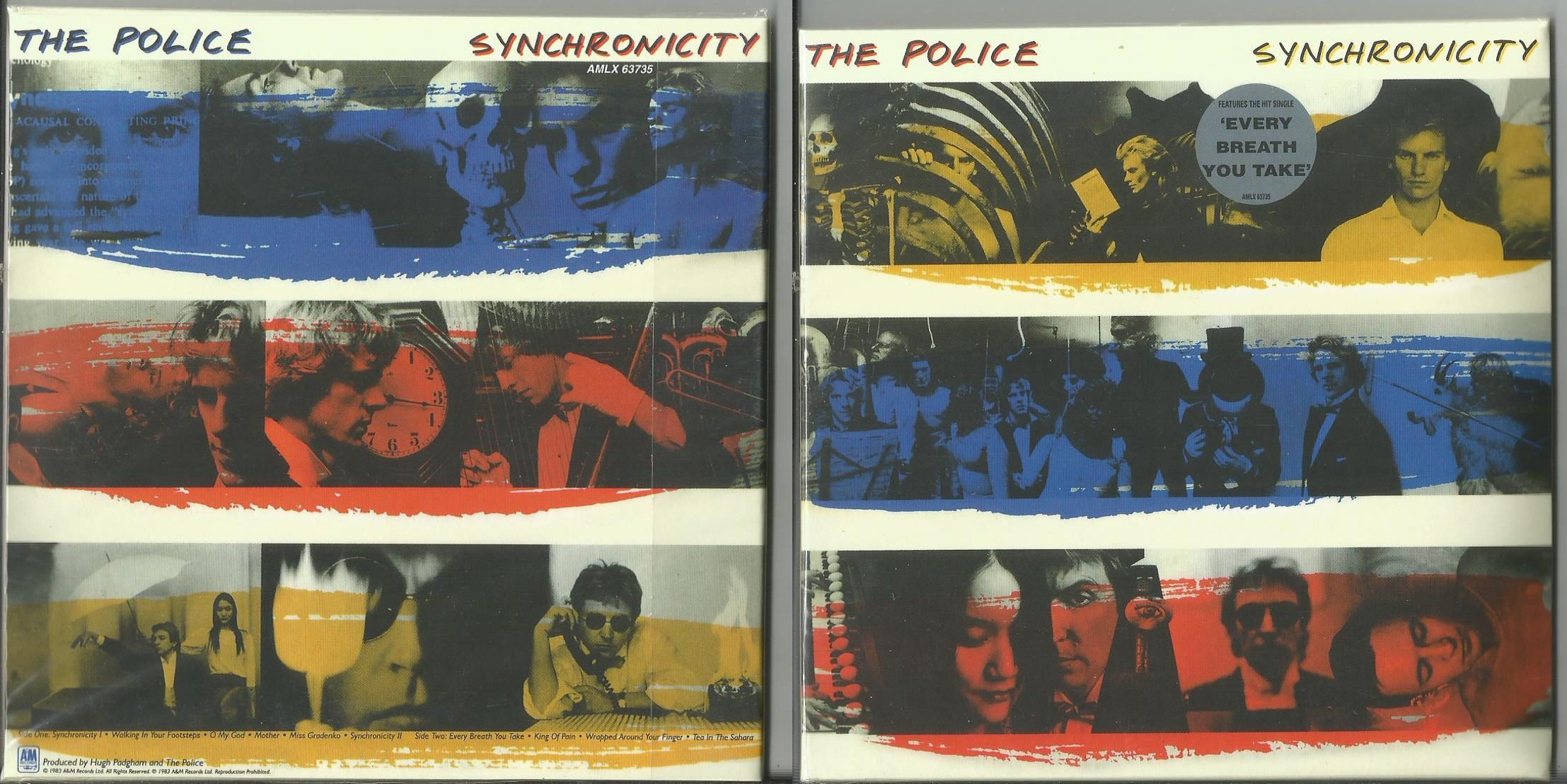 Police Synchronicity Records Lps Vinyl And Cds Musicstack