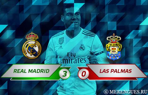 Real Madrid C.F. - UD Las Palmas 3:0