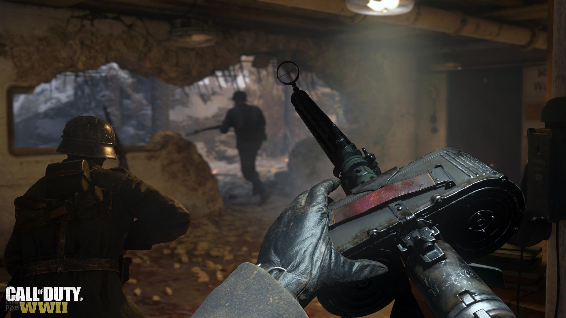 Call of Duty: WWII [Дополнение с мультиплеером и режимом зомби] (2017) PC   RePack от FitGirl