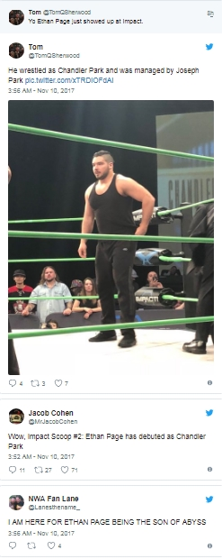 Интересные дебюты на Impact Wrestling
