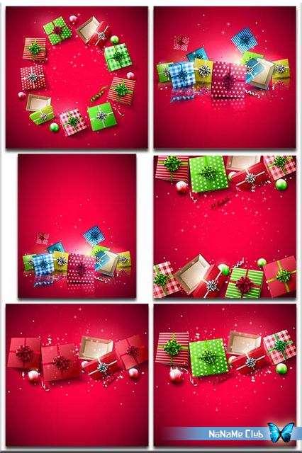 Фоны - Christmas backgrounds. Part 2 [JPG]