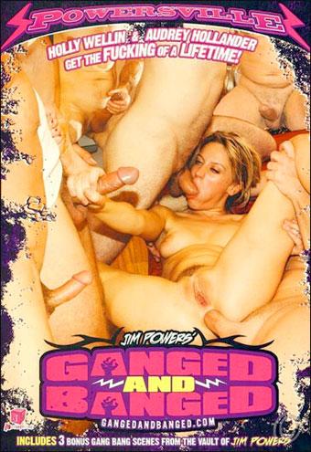 Постер:Трахнутые всей бандой / Ganged And Banged (2008) DVDRip