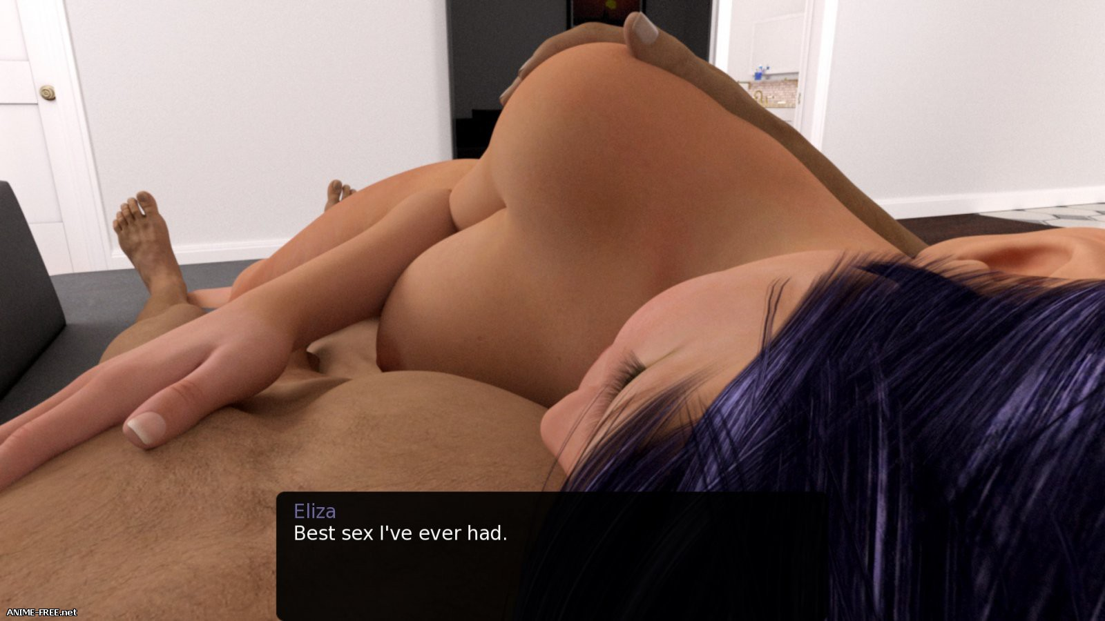 My New Roommate / Моя новая соседка по комнате [2017] [Uncen] [3DCG, ADV] [ENG] H-Game