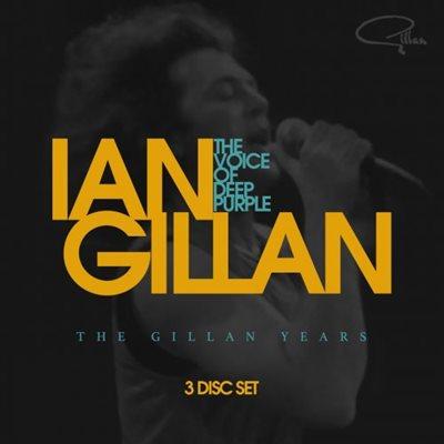 Ian Gillan - The Voice Of Deep Purple The Gillan Years [BoxSet 3CD] (2017) MP3