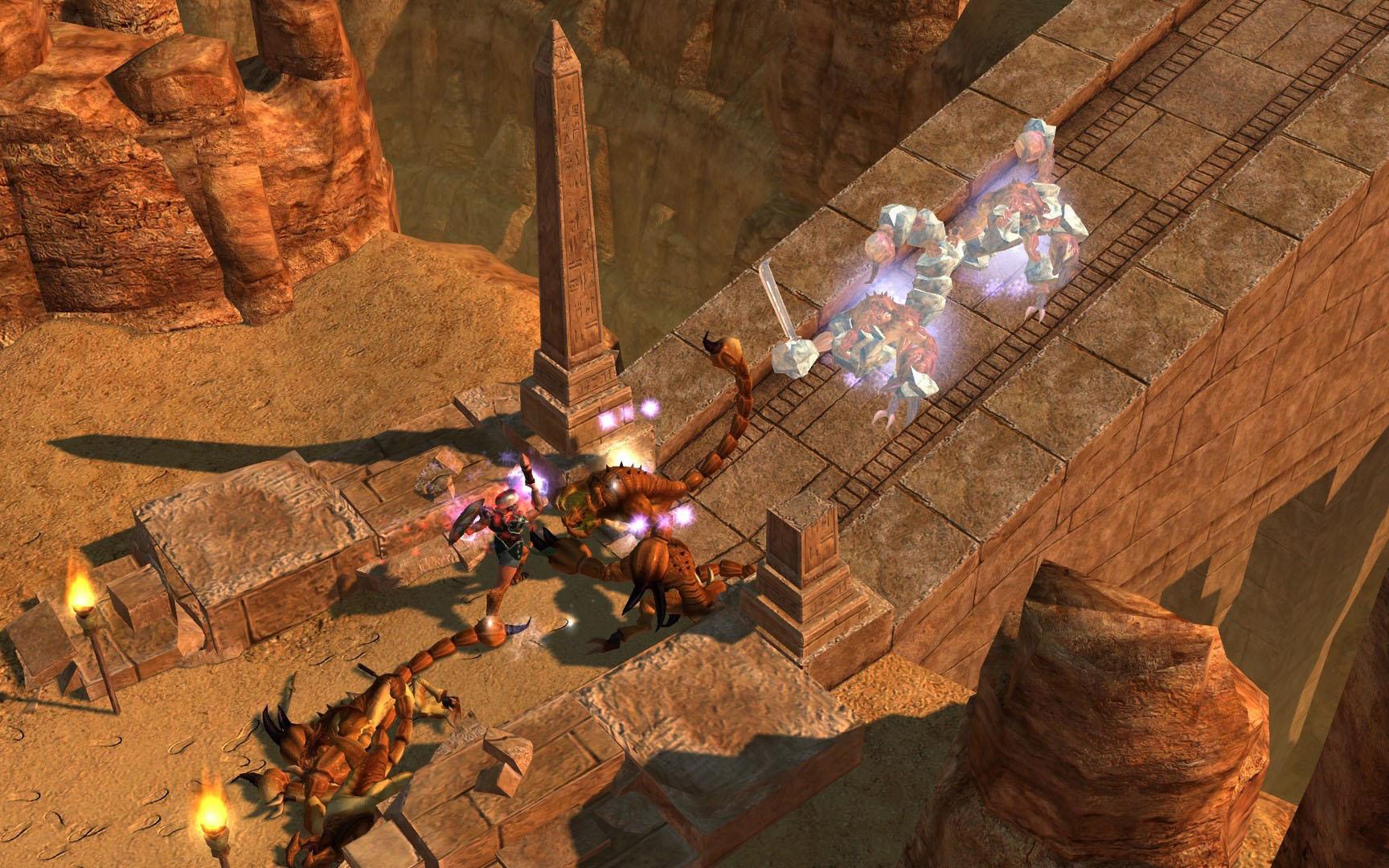 Titan Quest: Anniversary Edition [v 1.48 + DLC] (2016) PC | RePack от xatab