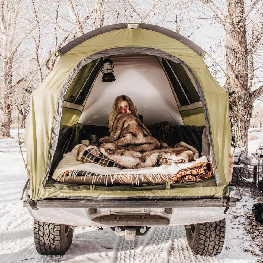 Зимний выезд с палаткой