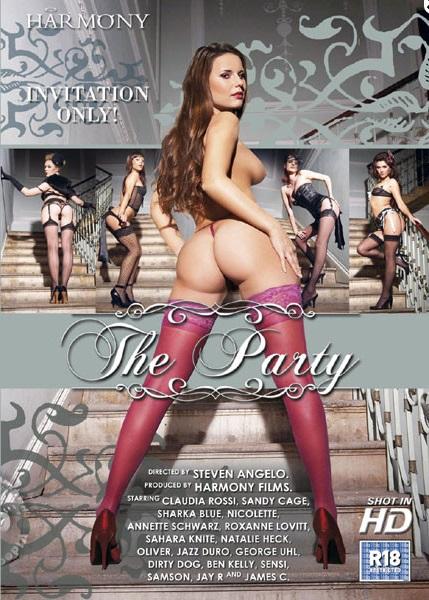 The Party / Totale Debauche (Steven Angelo, Harmony) [2007 г., Gonzo, Anal, DP, DPP, Lesbo, Orgy, 720p, WEB-DL] (Split Scenes)