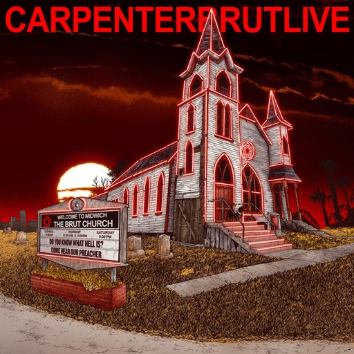 Carpenter Brut - CARPENTERBRUTLIVE (2017) [MP3|320 Kbps] <Synthwave, Dark Synth, Electronic 80's>