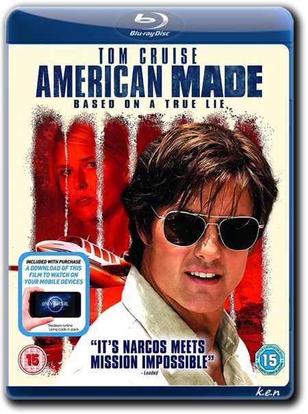 ������� � ������� / American Made (2017) BDRip 720p �� k.e.n & MegaPeer | ��������