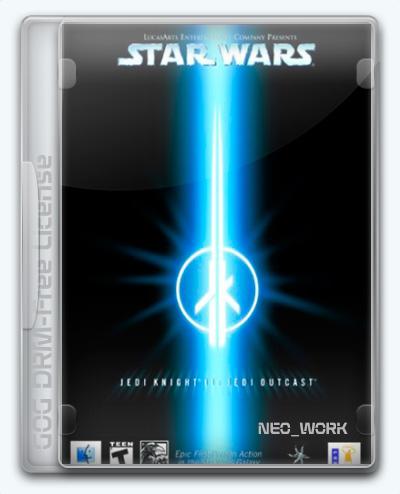 Star Wars: Jedi Knight II - Jedi Outcast (2002) [Multi] (1.03) License GOG