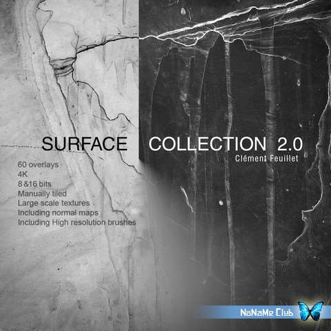 Текстуры - Mastering CGI - Surface Collection 2.0 [TIFF, PNG]