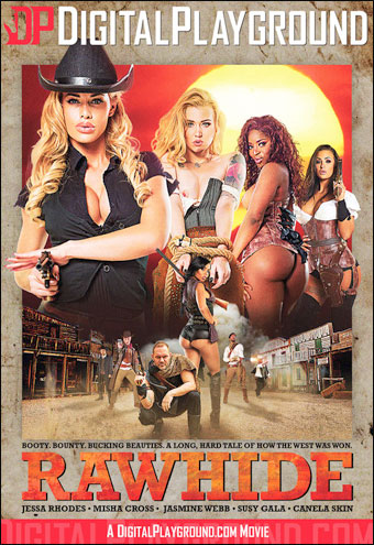 Постер:Digital Playground - Плеть / Rawhide (2017) DVDRip