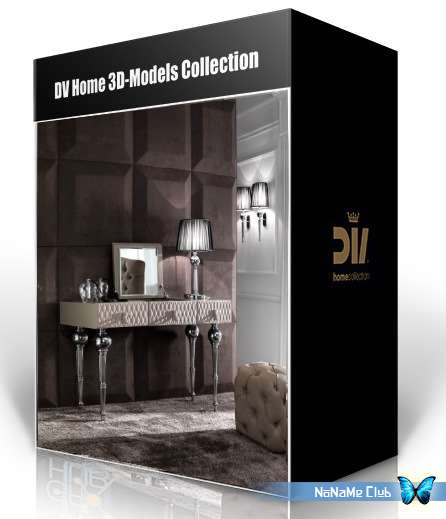 3D модели - DV Home 3D-Models Collection [V-Ray|*.max, 3DS, DXF, FBX, OBJ]