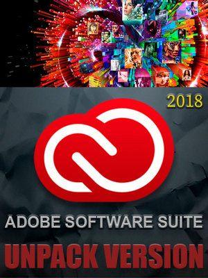 Adobe Software Suite 2018 (Unpack Version) by Azbukasofta (x86-x64) (2018) [Eng/Rus]
