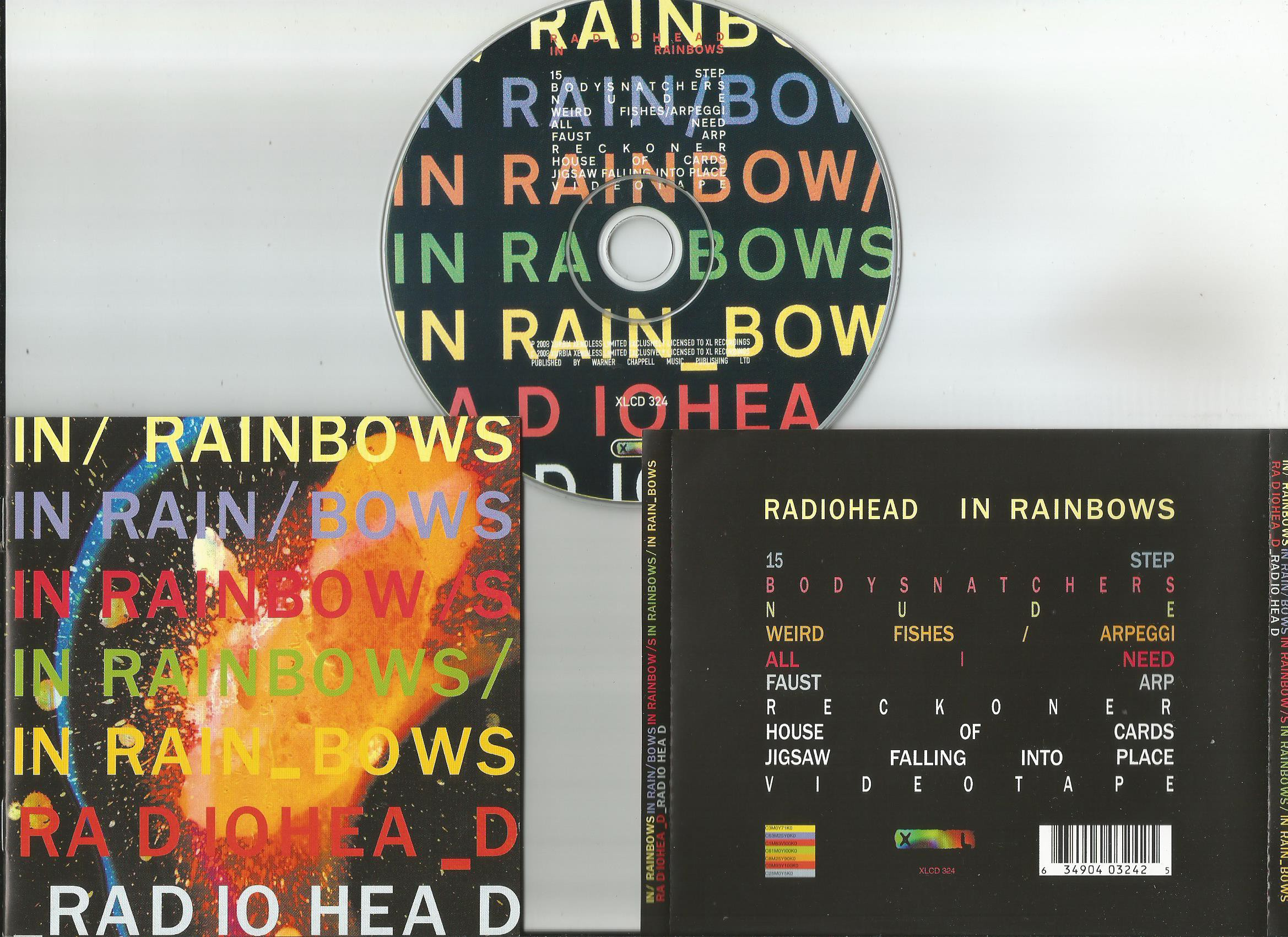cd radiohead in rainbows
