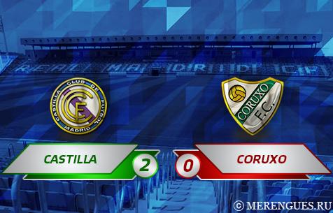 Real Madrid Castilla - Coruxo FC 2:0