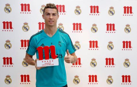 """Роналду - лучший игрок """"Мадрида"""" в декабре"""