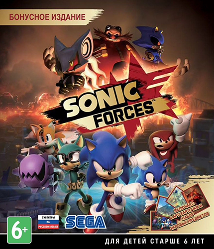Sonic Forces [v 1.04.79 + 6 DLC] (2017) PC | Repack
