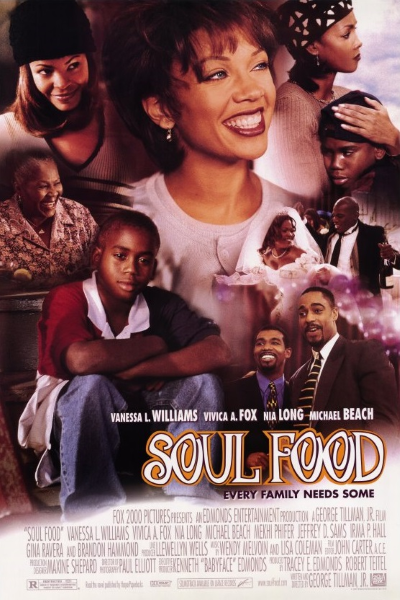 Пища для души / Soul Food (Джордж Тиллман мл. / George Tillman Jr.) [1997, США, драма, комедия, WEB-DL 1080p] DVO (Лазер Видео) + Sub Eng + Original Eng